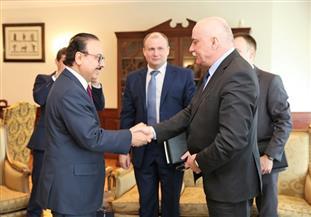 وزير الاتصالات يستقبل نظيره البيلاروسي ويوقع اتفاقية تعاون في المجال العلمي والتعليمي | صور