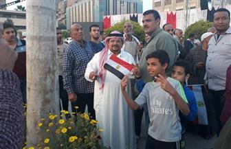 أهالي حلوان يحتفلون بفوز الرئيس السيسي بفترة ثانية | فيديو