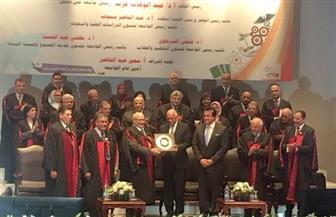 جامعة عين شمس تمنح الدكتوراه الفخرية لفاروق الباز تقديرا لإسهاماته العلمية | صور