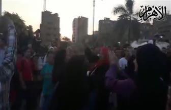 أهالي حدائق القبة يحتفلون بفوز السيسي بفترة رئاسية ثانية | فيديو