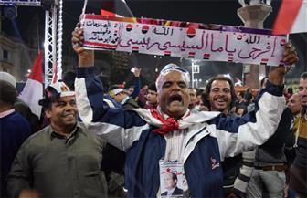 احتفالات المنصورة بمناسبة فوز الرئيس السيسي بفترة رئاسية ثانية | صور
