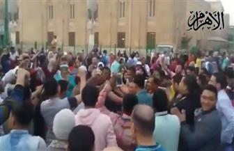 أهالي الجمالية يحتفلون بفوز الرئيس السيسي بفترة ثانية | فيديو