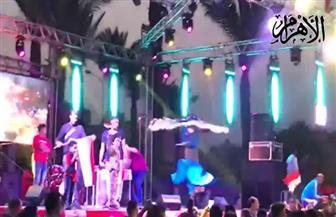أهالي عابدين يحتفلون بفوز الرئيس السيسي بفترة ثانية | فيديو