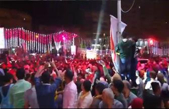 احتفالات كبري بالفيوم بفوز الرئيس السيسي في الانتخابات | فيديو