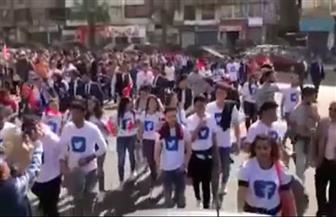 شذى تحيي احتفالات أهالي الشرقية بفوز الرئيس السيسي بفترة ثانية | فيديو