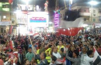 احتفالات في بني سويف.. والمحافظ: انتخاب الرئيس السيسي لفترة ثانية يؤكد رغبتنا في استكمال التنمية| صور