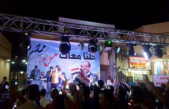 جنوب سيناء تحتفل بفوز السيسي في انتخابات الرئاسة | صور