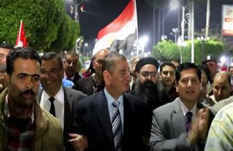 محافظ كفر الشيخ يهنئ الرئيس السيسي ويشكر الأهالي على التصويت في الانتخابات