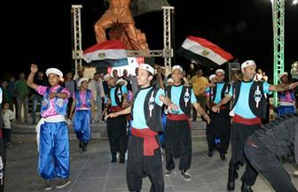 محافظ السويس يشارك احتفالية فوز الرئيس السيسى بالكورنيش الجديد | صور