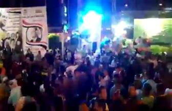 ميادين الأقصر تحتفل بفوز الرئيس السيسي | فيديو