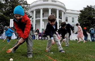 """الرئيس الأمريكي يحتفل بـ """"عيد الفصح"""" بالبيت الأبيض   صور"""