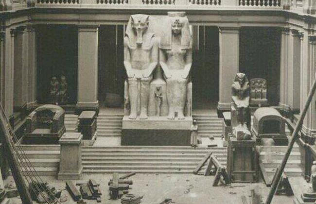 في ذكرى وضع حجر الأساس للمتحف المصري .. حكاياتنا مع البناء والأسمنت   صور -