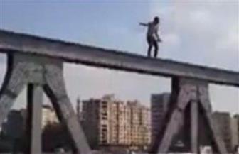 إنقاذ أحد الأشخاص حاول الانتحار قفزا من أعلى كوبرى ستانلى بالإسكندرية