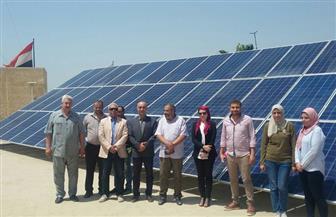 الإسكان: افتتاح محطة للطاقة الشمسية بجهاز مدينة الصالحية الجديدة بقدرة 45 كيلو وات