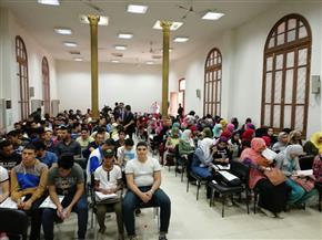 """مبادرة """"عايزين نتعلم"""" تشهد إقبالا كثيفا من الطلاب   صور"""