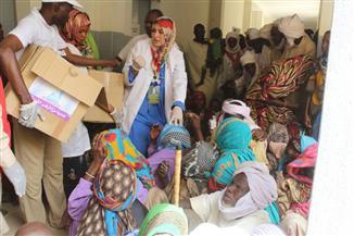 قافلة الأزهر تجري 342 عملية جراحية وتفحص 15 ألف مريض خلال يومها الخامس في تشاد   صور