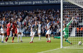 ليفربول يتقدم على ويست بروميتش بهدف مبكر في الدوري الإنجليزي
