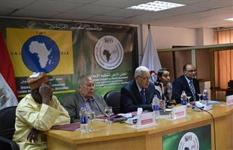 مكرم محمد أحمد يشهد حفل افتتاح الدورة الحادية والخمسين للصحفيين الشبان الأفارقة | صور