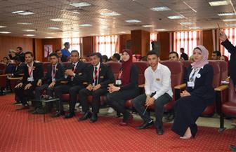 آداب المنصورة تستضيف ملتقى برلمان طلاب الجامعات