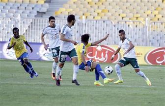 الشوط الأول..التعادل السلبي يسيطر على مباراة المصري وطنطا