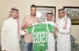 عمر السومة يجدد عقده مع أهلي جدة حتى عام 2021