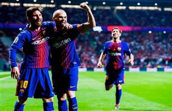 برشلونة بطلاً لكأس ملك إسبانيا بخماسية في مرمى إشبيلية