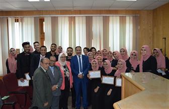 جامعة عين شمس تفتتح 6 مدرجات بكلية الألسن | صور