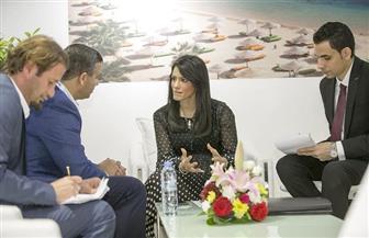وزيرة السياحة تفتتح الجناح المصري في الملتقى العربي للسياحة والسفر ATM