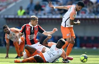 نيس يفوز على مونبلييه ويقفز للمركز الخامس في الدوري الفرنسي