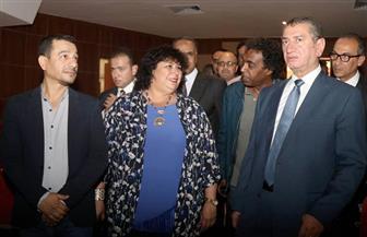 وزيرة الثقافة: إقامة معارض للكتاب في الأقاليم ينشر رايات التنوير بأرجاء الوطن | صور