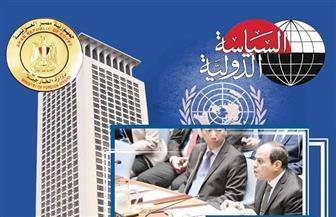"""""""مؤسسة الأهرام""""ومجلة """"السياسة الدولية"""" يحتفلان بإصدار توثيق عضوية مصر بمجلس الأمن"""