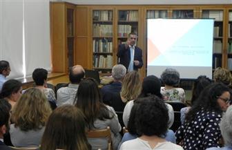 شعبان عبد الجواد يلتقي عددا من المعنيين بالآثار من دولة قبرص | صور
