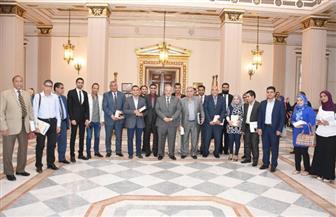 جامعة القاهرة تكرم الفائزين بمسابقة اقرأ البحثية | صور