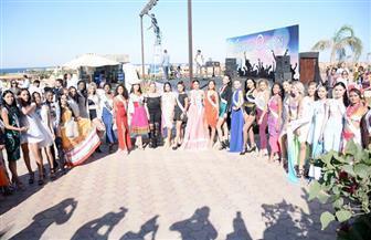 منافسة شرسة بين ملكات جمال العالم في العين السخنة