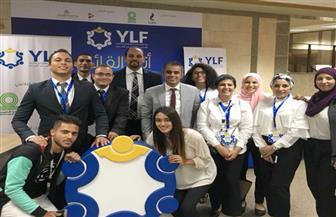 """""""شباب القادة"""" تشارك في ملتقى توظيف جامعة القاهرة.. وتؤكد: هدفنا تنمية القدرات الشبابية  صور"""