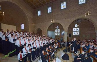 حفل موسيقى لكورال سان كيرل القبطي بهولندا بمناسبة عيد القيامة|صور