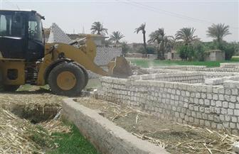 إزالة 57 حالة تعدٍ على أراض زراعية وأملاك دولة بالقوصية| صور