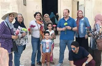 وفد سياحي يزور آثار فوه الإسلامية بكفر الشيخ | صور