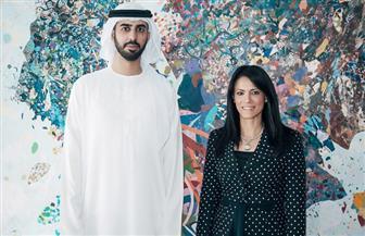 وزيرة السياحة تلتقى وزير دولة الإمارات للذكاء الاصطناعي على هامش الملتقى العربى للسياحة والسفر