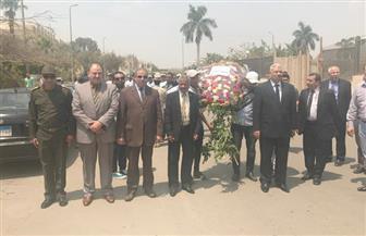 جامعة الأزهر تهنئ الرئيس والجيش والشعب بتحرير سيناء وتضع إكليل زهور على النصب التذكاري   صور