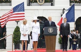 ترامب: العلاقات الأمريكية الفرنسية مستمرة منذ قرنين.. وجنودنا قاتلوا معا بالحرب العالمية الثانية