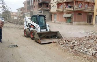 حملة نظافة وتطهير المجاري المائية وإحلال وتجديد أعمدة الجهد المتوسط بعدد من قرى الحامول | صور