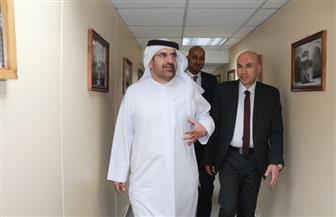 """جمال بن حويرب في ندوة """"بوابة الأهرام"""": فخور بوجودى بمؤسسة الأهرام العريقة"""