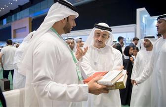 افتتاح معرض أبو ظبي الدولي للكتاب في دورته الـ28.. وزايد شخصية العام