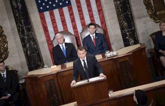 ماكرون يندد بالنزعات القومية في خطاب أمام الكونجرس الأمريكي