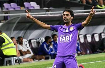 حسين الشحات يصنع هدفا في ليلة تتويج العين بالدوري الإماراتي