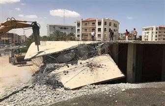 إزالة التعديات على أراضي مستشفى قفط ومنطقة الحرفيين بمركز نقادة بقنا
