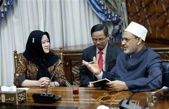 وزيرة الدولة الإندونيسية: خريجو الأزهر لهم دور مهم في دعم الاستقرار والتعايش السلمي في بلادنا