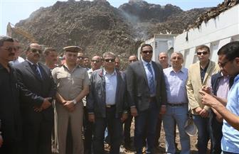 وزير البيئة يتفقد مراحل تطوير مقلب أبو خريطة بالمنوفية