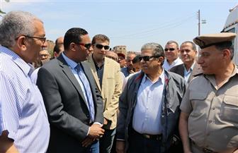 وزير البيئة يتفقد أعمال رفع تراكمات مقلب أبوخريطة والمدفن الصحي بمدينة السادات |صور